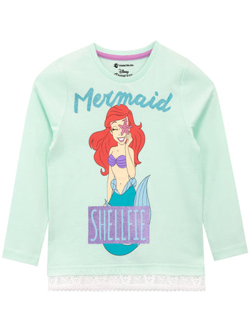 The Little Mermaid Long Sleeve Top