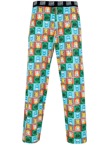 Mens Marvel Comics Lounge Pants