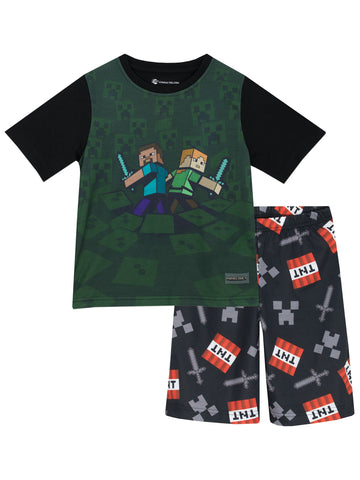 Minecraft Short Pyjamas