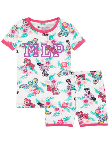 My Little Pony Short Pyjamas - Snuggle Fit
