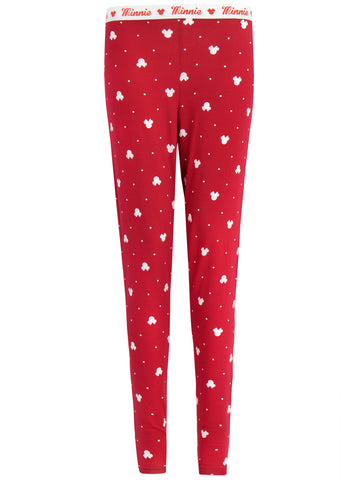 Womens Minnie Mouse Lounge Pants