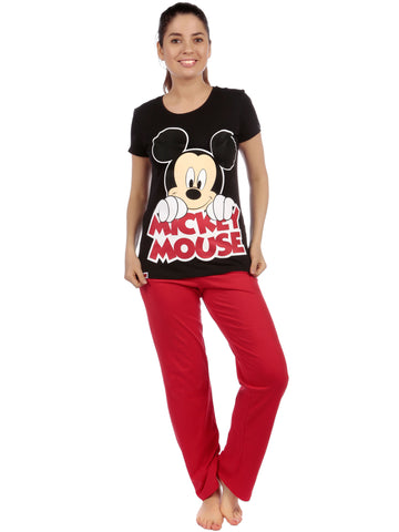 Womens Mickey Mouse Pyjama Set