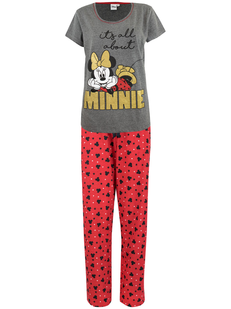 Buy Womens Minnie Mouse Pyjamas I Character.com Official Merchandise