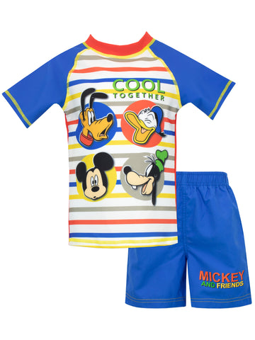 Mickey Mouse Swim Set
