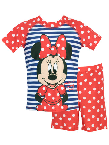 Minnie Mouse Two-Piece Swim Set