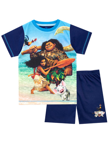 Disney Moana Short Pyjamas