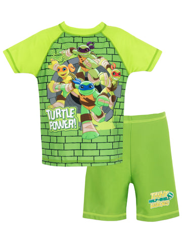 Teenage Mutant Ninja Turtles Two Piece Swim Set