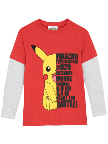 Pokemon Long Sleeve Top