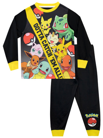 Pokemon Long Sleeve Pyjamas
