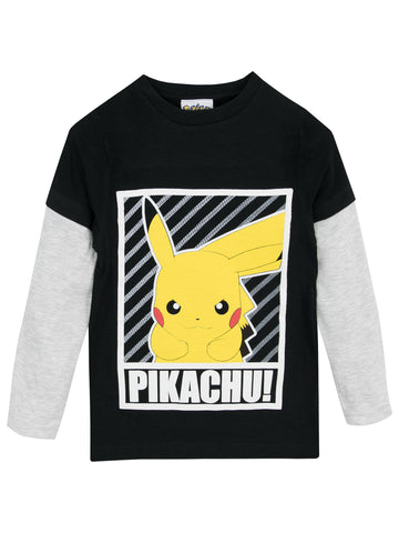 Pokemon Long Sleeve Top - Pikachu