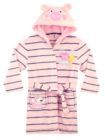 Girls Peppa Pig Dressing Gown