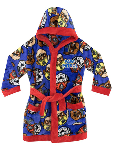 Paw Patrol Dressing Gown - Chase, Marshall and Rubble