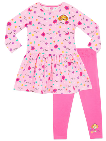 Paw Patrol Dress & Leggings Set