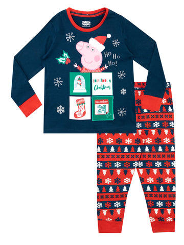 Peppa Pig Christmas Pyjamas