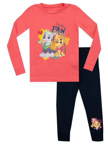 Paw Patrol Pyjamas Snuggle Fit - Everest and Skye