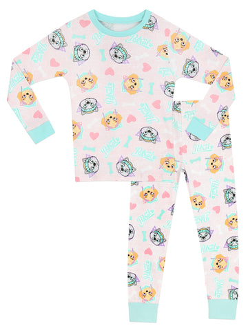 Paw Patrol Snuggle Fit Pyjamas - Skye & Everest