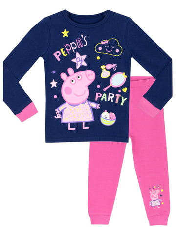 Peppa Pig Snuggle Fit Pyjamas - Peppa's Party