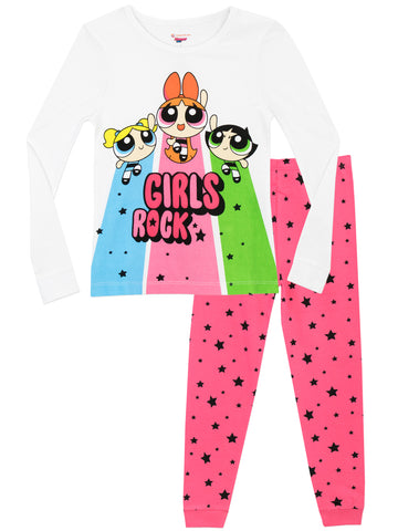 Powerpuff Girls Snuggle Fit Pyjamas