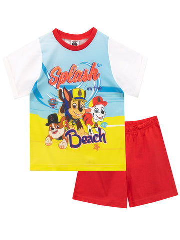 Paw Patrol Pyjama Set - Chase, Marshall, and Rubble