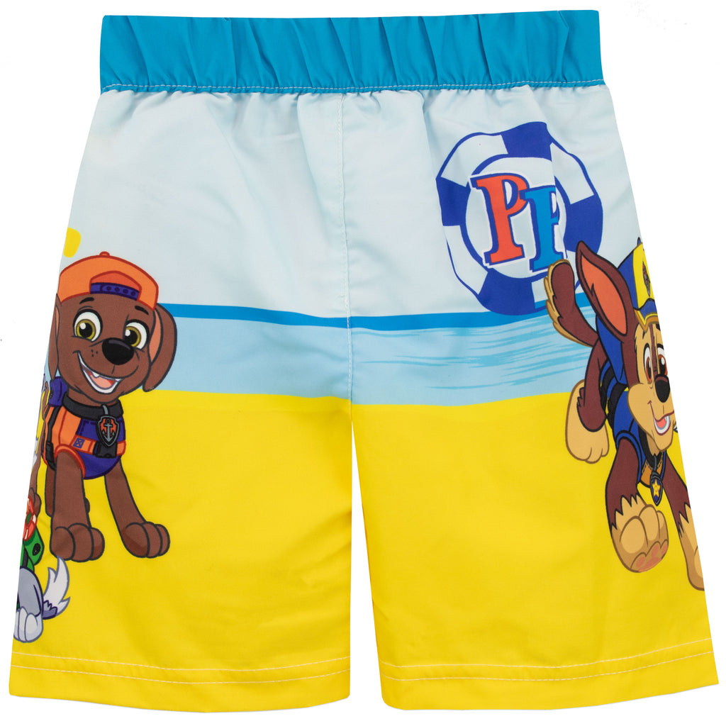 6e8ec32d7fa66 Buy Boys Paw Patrol Swim Shorts | Kids | Character.com Official ...