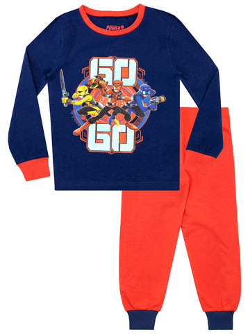 Boys Power Rangers Pyjamas - Snuggle Fit