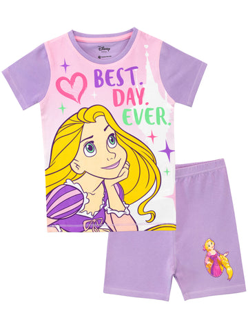 Disney Tangled Short Pyjamas - Snuggle Fit