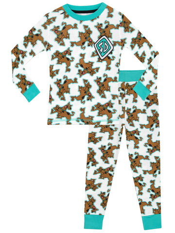 Boys Scooby Doo Snuggle Fit Pyjamas