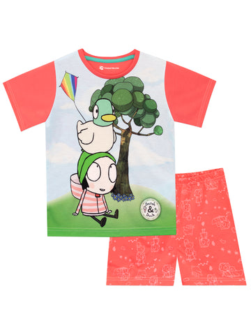 Sarah and Duck Pyjamas