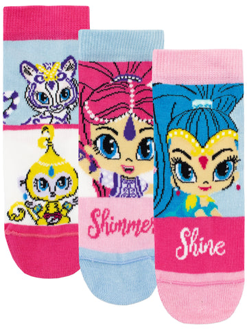 Shimmer and Shine Socks - Pack of 3