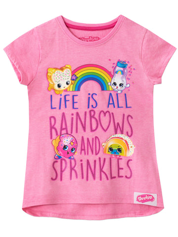 Shopkins T-Shirt - Rainbow