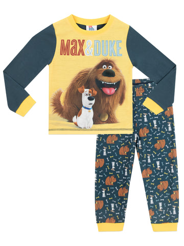 Secret Life Of Pets Pyjamas - Max & Duke