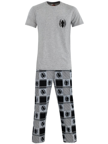 Mens Spiderman Pyjamas