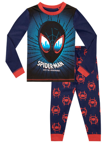 Spiderman Snuggle Fit Pyjamas - Into the Spiderverse
