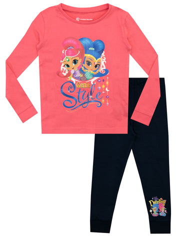 Shimmer and Shine Snuggle Fit Pyjamas