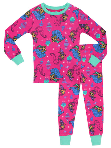 Shimmer & Shine Snuggle Fit Pyjamas