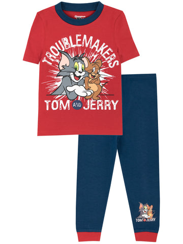 Tom & Jerry Snuggle Fit Pyjamas