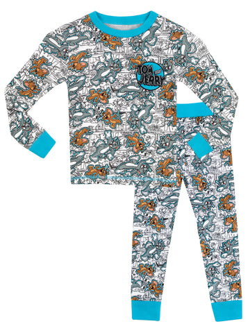 Tom and Jerry Snuggle Fit Pyjamas