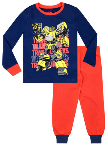 Boys Transformers Pyjamas - Snuggle Fit
