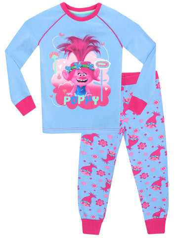 Trolls Snuggle Fit Pyjamas - Poppy