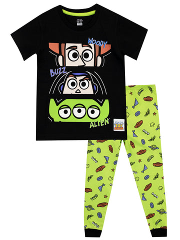 Toy Story Pyjamas - Woody, Buzz, and Alien