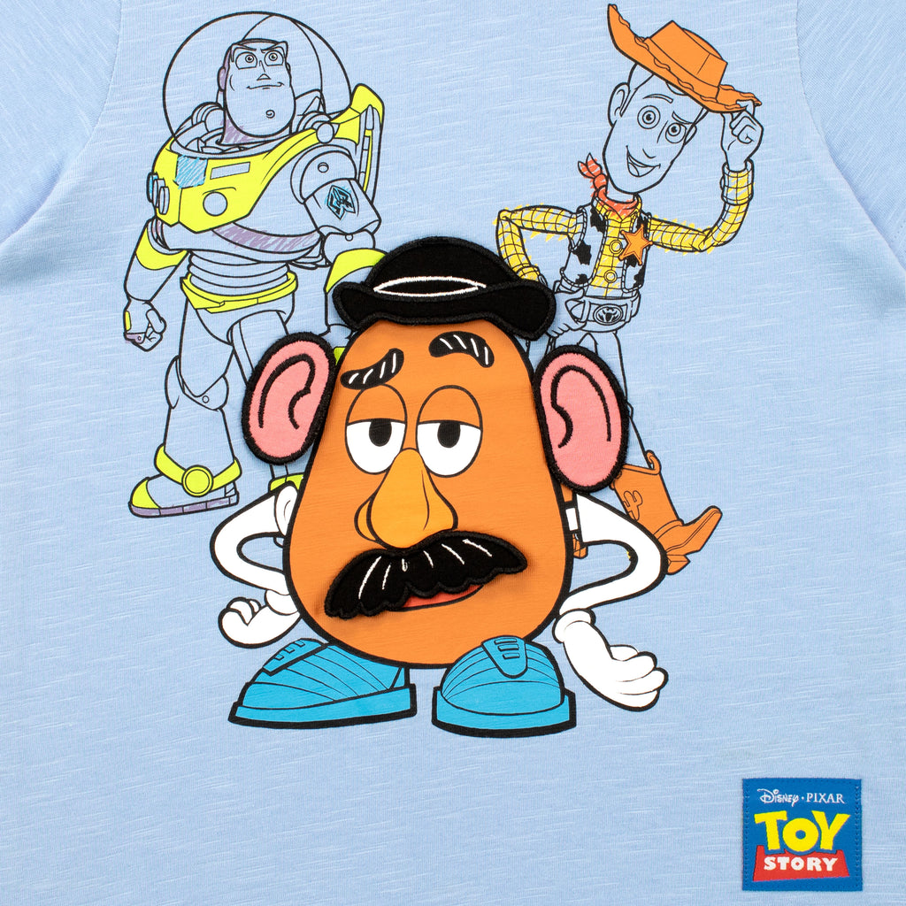 Toy Story T Shirt Mr Potato Head Buzz And Woody