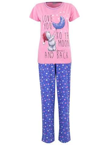 Womens Tatty Teddy Pyjamas - Me To You