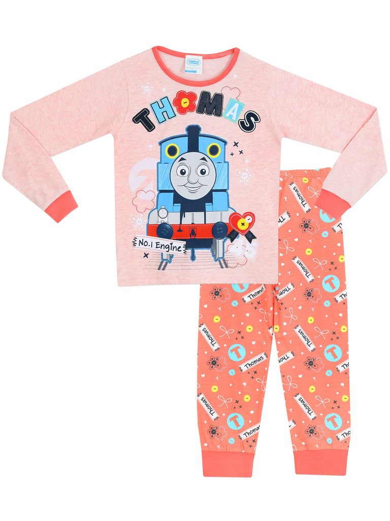 Pink Thomas The Tank Pyjamas