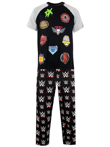 Mens WWE Pyjamas
