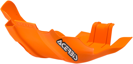 Acerbis Polypropylene Chassis Belly Skid Plate 16 OE Orange