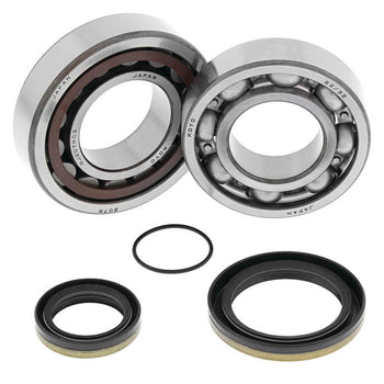 All Balls Crankshaft Crank Shaft Bearing and Seals Kit for