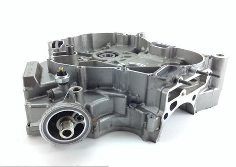 Engine Left RIght Center Cases From 2005 Suzuki DL1000 V-Strom