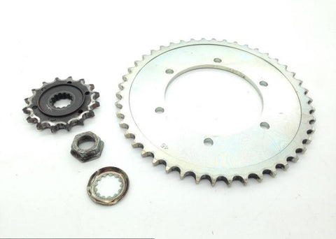 Front Rear Sprocket Set from 1996 Kawasaki Vulcan 800