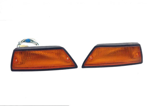 1100 Goldwing Front Left Right Turn Signals Set 1980 Honda GL1100 PARTS 1635A