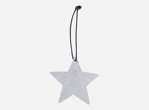 Concrete Star Ornament